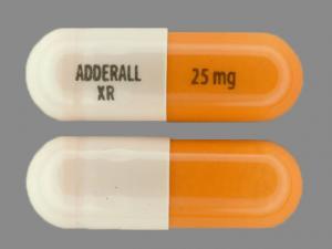 Adderall XR 25mg 2