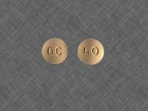 Oxycontin OC 40mg 7