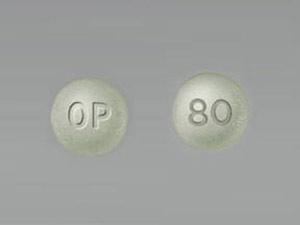 Oxycontin OP 80mg 6